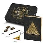 empireposter Legend of Zelda, The - Symbols - Limited Edition Gift Box Geschenkset Fanartikel je 1x Notizbuch blanko, 1x Keyring, 1x Kugelschreiber und 3X Button