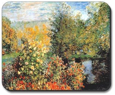 Monet: Stiller Winkle-Art Teller Marke Maus Pad (Bälle-maus-pad)