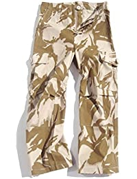Boys 11-12 Army Combats Desert Camouflage Soldier Cargo Trousers