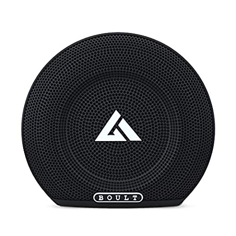 Boult Audio Bassbox Blast Portable 10W Wireless Bluetooth Speaker with Deep Bass, Built-in Mic, USB Port, Aux and Long Battery Life (Black)