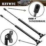 HZTWFC 2 pezzi Sollevatore cofano anteriore Supporti Ammortizzatori Puntoni Braccia Puntelli Aste Ammortizzatore pistone OEM # 74145SDBA02