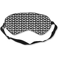 Natural Silk Eyes Mask Sleep Funny Halloween Monster Blindfold Eyeshade with Adjustable for Travel,Nap,Meditation... preisvergleich bei billige-tabletten.eu