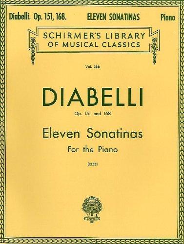 Preisvergleich Produktbild Anton Diabelli: Eleven Sonatinas For Piano 0p.151/168. Für Klavier