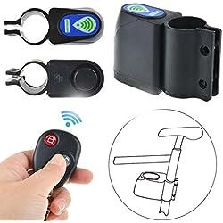 Aiming Anti-Robo de Bicicletas Remoto de Alarma de Bloqueo de Control de Bloqueo de Seguridad de Ciclo de vibración