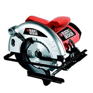 51eNY5Lmq9L. SS300  - Black+Decker CD601-QS Sierra circular, 1100 W, 230 V, Negro, Rojo, Blanco, 55mm