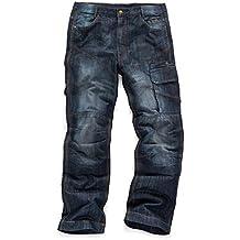 Scruffs Trade Denim, Vaqueros para Hombre, Azul (Blue Denim), talla del fabricante: 36R