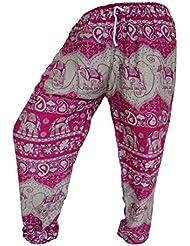 by soljo - Pantalon pantalons de loisirs sportifs pantalon Elephant pink