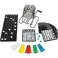 Bavaria-Home-Style-Collection-Bingospiel-Gesellschaftsspiel-mit-Misch-Losmaschine-aus-Metall-18-Spielkarten-75-Kugeln-ab-6-Jahren-ideal-auch-fr-Sylvester-Glcksspiel