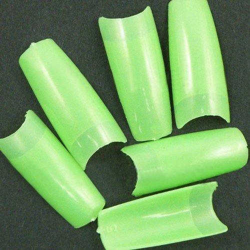 500pcs de sharp green français vert ongles conseils de CODE: # 292