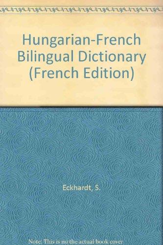 Dictionnaire hongrois-français : Magyar-francia kéziszotar
