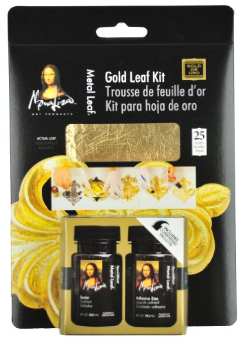 Unbekannt Speedball Mona Lisa Gold Leaf Kit -