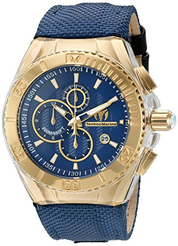 technomarine-womens-quartz-watch-with-blue-dial-chronograph-display-and-blue-nylon-strap-tm-115175