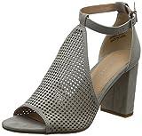 New Look Violeta, Zapatos con Tacon y Correa de Tobillo para Mujer, Gris (Mid Grey 4), 39 EU