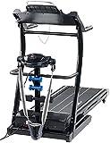 newgen medicals Laufband mit Massageband: 2in1-Profi-Laufband mit Fitness-Station und Bandmassagegerät (Laufband mit Massagefunktion)