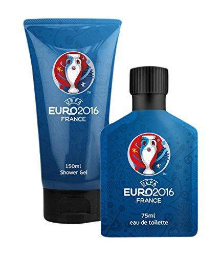 UEFA Euro 2016 Coffret Duo Gel Douche 150 ml + Eau de Parfum 75 ml Bleu