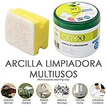 Oryx 14040090 Arcilla Limpiadora Multiusos Tarro 500 gramos.