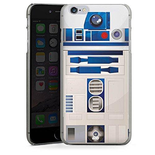 Apple iPhone 5s Hülle Case Handyhülle Star Wars Merchandise Fanartikel R2D2 Hard Case anthrazit-klar