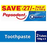 Pepsodent Germi Check Cavity Protection - 150g (Pack of 2, with Save Rupees 27/-)
