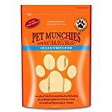 Pet Munchies 100% Natural Ozean White Fish Dog Treats 100g