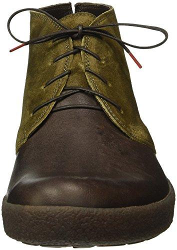Pensare! Herren Geoag Desert Boots Braun (espresso / Kombi 42)
