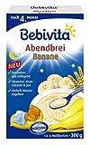 Bebivita Abendbrei Banane 300g, 6er Pack (6 x 300 g)
