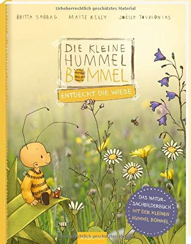 Die kleine Hummel Bommel entdeckt die Wiese: Das Natur-Sachbilderbuch