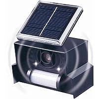 Gardigo 60090, Repelente Solar Ultrasónico, Ahuyentador de Aves Palomas y otros Pájaros con LED, para Exterior