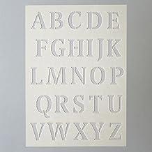 efco – Plantilla Letras Grandes 26 Designs, plástico, ...