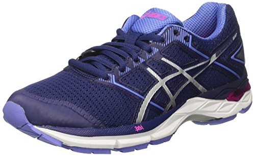 Asics Women's Gel-Phoenix 8 Running Shoes, Blue (Indigo Blue/Silver/Pink Glow), 8 UK...
