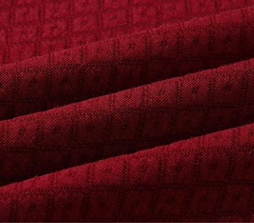Femme's Automne- Hiver Sportswear Manche Longue Zippé Sweater Hauts Sweatshirt à Capuche Multicolore Collure Jumper Hoodie Tops RedVin rouge