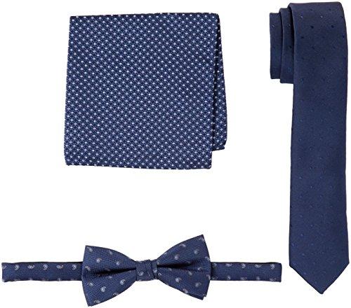 JACK & JONES PREMIUM Men's 12129865 Ties Set, Blue (Navy Blazer Navy Blazer), One Size