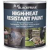 Blackfriar BKFHRB500 500 ml Heat Resistant Paint - Black