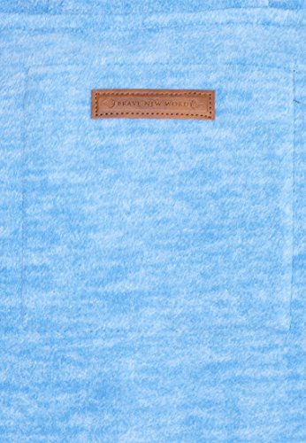 Naketano -  Felpa  - Basic - Uomo Sky Blue Melange
