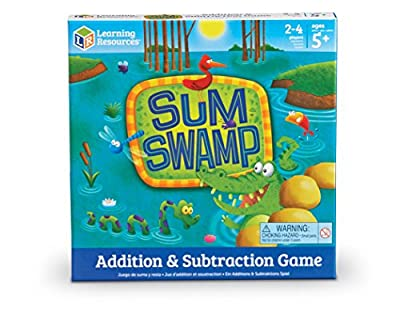 Learning Resources Sum Swamp Addition & Subtraction Game from Learning Resources Uk Direct Account