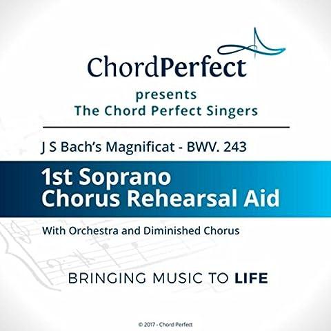 Magnificat, BWV 243: 11. Sicut Locutus Est (1st Soprano Chorus Rehearsal Aid)
