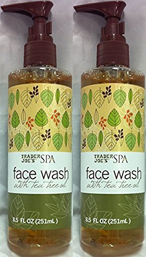 2-pack-trader-joes-spa-face-wash-with-tea-tree-oil-by-trader-joes