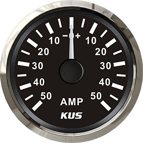 Kus Ampèremètre Amp Gauge 50 A courant avec unité de Pick-up 52 mm (5,1 cm) avec rétroéclairage