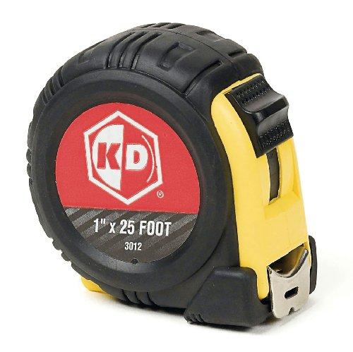 KD Werkzeuge 301225Fuß Maßband (gelb und schwarz Fall) (25 Maßband Fuß)