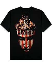 Marilyn Manson - Crown Mens S/S T-Shirt In Black