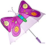 Kidorable Paraguas Mariposa Morado Única