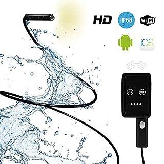 Inspektionskamera mit Licht - Beste Endoskop-Inspektionskamera mit Inspektionskamera Verlängerungskabel - Funktioniert am besten mit Inspektionskamera iPhone App - Ideale wasserdichte Smartphone Schlangeninspektionskamera