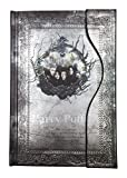#10: Harry Potter Vintage Notebook Harry Potter Journal Book Diary Book/Hard Cover Note Book/Notepad/Agenda Planner Gift (Black)