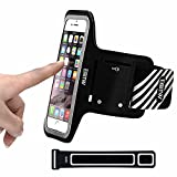 EOTW iPhone 6/6s Plus Armband for Running,Sweatproof Phone Sport Armband Case Holder for Samsung S6 edge plus,S7 edge,A7,J7,A5/Huawei P8,P9 lite plus,Honor 8,Mate S/Sony Xperia z5,z4,z3,z2/LG g5,g4,g3,g2 Sports Jogging Workout and Exercise - 5.5 inch