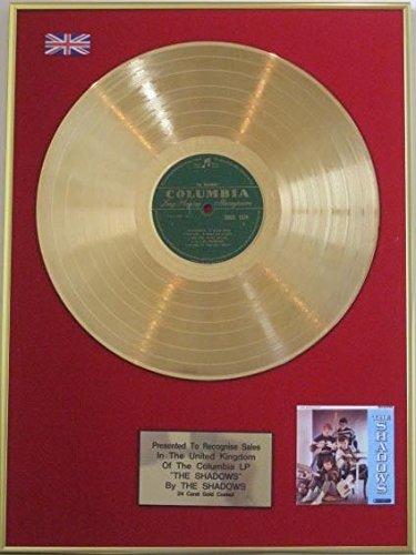 The Shadows-disco d' oro 24carati LP-'The Shadows