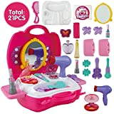 Private Image Girls Makeup Vanity Case Toy Set - 21 pcs (For 3 years + Kids)