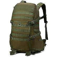 Mountaintop 40L Mochila Militar /Táctica Molle / Acampada /Camping /Senderismo/ Deporte/ Backpack de Asalto Patrulla