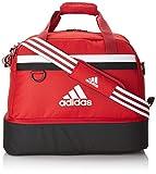 adidas Unisex Fußballtasche Tiro15, rot/weiß, 54cm x 28 cm x 27 cm, 32 liters, S13307