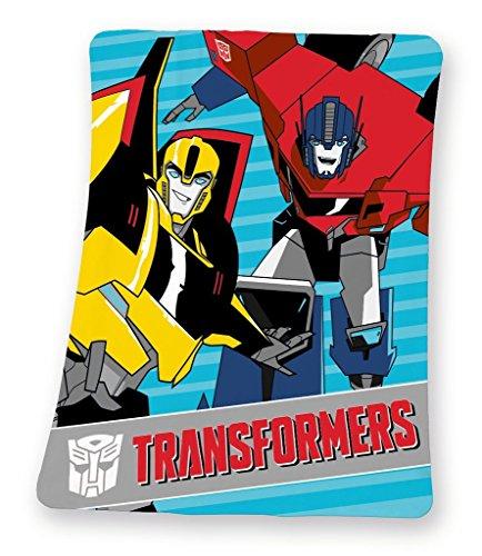 Herding Transformers Fleecedecke 130x160 cm 7530 25.035 (Bumble Bee-transformer-auto)