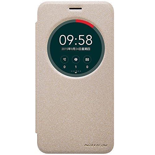 Asus Zenfone 3 Deluxe ZS570KL Funda Case - IVSO Slim Armor Cover Funda Protectora para Asus Zenfone 3 Deluxe ZS570KL 5.7 inch Smartphone(Slim Book Series - Oro)