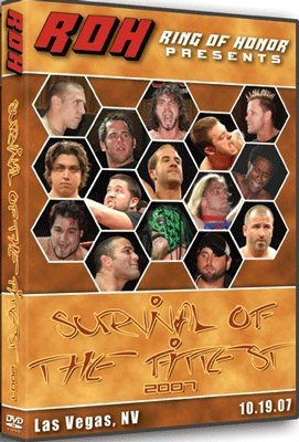 Ring of Honor - ROH Wrestling: Survival of the Fittest DVD 10.19.07 Las Vegas, NV
